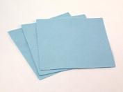 Sticky Back Self Adhesive Acrylic Felt Fabric 46cm Square Light Blue - per sheet