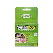 Small Dots - 300 Small Permanent Glue Dots on a roll - Double-sided, Sticky, Adhesive Dots for Creative Hobbies, Arts & Crafts & Other Projects