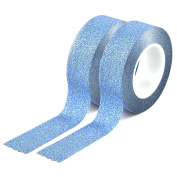 Youzings Set of 2 Washi in the colour blue, Masking Tape Washi Tape, Tape, brand Youzings
