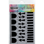 Ranger Small Arrow Border Dylusions Stencil