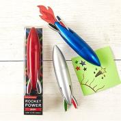Rocket Power Multi Colour Biro Style Pen ~ Colour Vary
