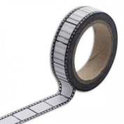 Toga Photo Negative MT100 Masking Tape Washi Tape 5.5 x 7 x 1.5 cm Black/White