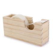 La Fourmi 13 x 4 x 6 cm Tape Dispenser Pinewood
