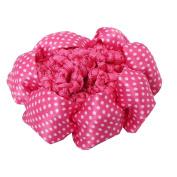 Just Fox – Bun Net Hair Net Hair Hairstyle Help Fabric Knot Mesh Polka Dot)