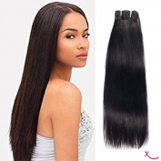 extiff – Flat Weave Brazilian Remy Hair 20 Inch 50 cm – 1 Strip