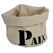 """Colour Ecru Fabric Bread Basket"