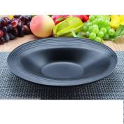 Rice bowls/soup bowls/cereal bowls/pasta bowls/salad bowls/imitation porcelain bubble noodle bowl/black sanding bowl-B