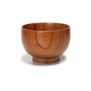 Rice bowls/wood dishes-A