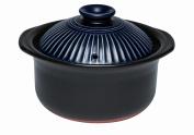 Chrysanthemum flower IH rice hot pot 2 go (lapis lazuli) [cook cooking rice, takikomi gohan .1-2 go]