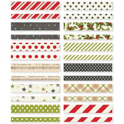 """Simple Stories """"Claus & Co."""" Washi Paper Tape,"""