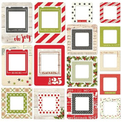 """Simple Stories """"Claus & Co."""" Chipboard Frames,"""