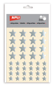 APLI Stickers Star Silver Bag With 3 Blades