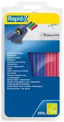 Rapid Glue Sticks Diameter 12 x 190 MM 250 g Blue / Yellow / Red, 24941400