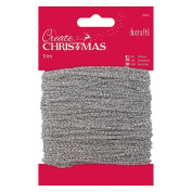 Papermania 20 m Sparkly Trim, Silver