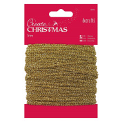 Papermania 20 m Sparkly Trim, Gold
