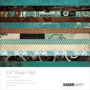 "Kaiser Craft 17cm ""Time Machine"" Paper Pad"