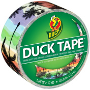ShurTech Patterned Duck Tape 4.8cm x 10yd-Sunset Strip, Other, Multicoloured
