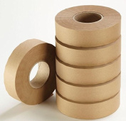 Loxley 48mm x 200m Brown Gumstrip Roll Gummed Adhesive Sealing Tape