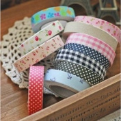 Man Friday Fabric Washi Tape Roll Decorative Sticky Cotton Adhesive Craft