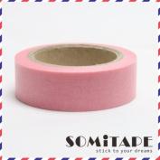 Pink Plain Washi Tape, Craft Decorative Tape