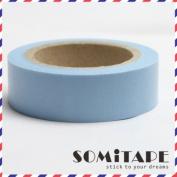 Plain Blue Washi Tape, Craft Decorative Tape