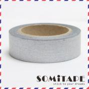 Silver Plain Washi Tape, Craft Decorative Tape