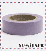 Purple Plain Washi Tape, Craft Decorative Tape