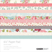 Kaiser Craft 17cm Secret Garden Paper Pad