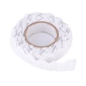 DIY Self Adhesive Lace Washi Tape Trim Ribbon Cotton Fabric Tape Decor Craft