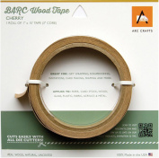Arc Crafts Barc Wood Adhesive Tape 2.5cm x 4.6m-Cherry