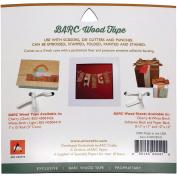 Arc Crafts Barc Wood Adhesive Tape 2.5cm x 4.6m-White Birch