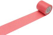 MT Casa Deco 50 mm Stripe Washi Masking Tape - Red