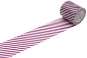MT Casa Deco 50 mm Stripes Washi Masking Tape - Purple