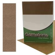 5 x A4 Self Adhesive Topaz Gemstone Metallic Glitter Sign Vinyl Sticker Art Sheets for Cardmaking & Crafts