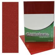 5 x A4 Self Adhesive Cinnabar Gemstone Metallic Glitter Sign Vinyl Sticker Art Sheets for Cardmaking & Crafts