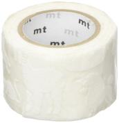 Mt Fab White Animals Design Washi Masking Tape