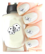 Easy to use, High Quality Nail Art Decal Stickers For Every Occasion! Ideal Christmas Present / Gift - Great Stocking Filler Dice