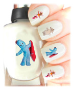 Easy to use, High Quality Nail Art Decal Stickers For Every Occasion! Ideal Christmas Present / Gift - Great Stocking Filler In The Nightgarden - Iggle Piggle, Makka Pakka and Upsy Daisy