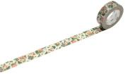 MT Ex Mini Flower Botanical Art Design Washi Masking Tape