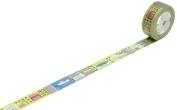 Mt Work Town Design Washi Masking Tape for Kids