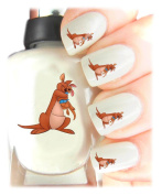 Easy to use, High Quality Nail Art Decal Stickers For Every Occasion! Ideal Christmas Present / Gift - Great Stocking Filler Winnie the Pooh - Kanga and Roo