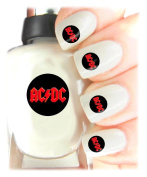 Easy to use, High Quality Nail Art Decal Stickers For Every Occasion! Ideal Christmas Present / Gift - Great Stocking Filler AC/DC