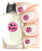 Easy to use, High Quality Nail Art Decal Stickers For Every Occasion! Ideal Christmas Present / Gift - Great Stocking Filler Hen Party In Progress