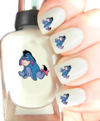 Easy to use, High Quality Nail Art Decal Stickers For Every Occasion! Ideal Christmas Present / Gift - Great Stocking Filler Eeyore