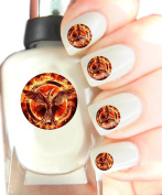 Easy to use, High Quality Nail Art Decal Stickers For Every Occasion! Ideal Christmas Present / Gift - Great Stocking Filler The Hunger Games - Mockingjay