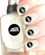 Easy to use, High Quality Nail Art Decal Stickers For Every Occasion! Ideal Christmas Present / Gift - Great Stocking Filler Arctic Monkeys