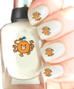 Easy to use, High Quality Nail Art Decal Stickers For Every Occasion! Ideal Christmas Present / Gift - Great Stocking Filler Mr Men - Mr Tickles