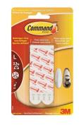 Command 17033 Strips, Detachable, 6 Strip L, White