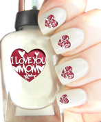 "Easy to use, High Quality Nail Art For Every Occasion! ""I Love You Mom"""
