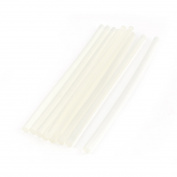 10 Pcs Clear White Hot Melt EVA Glue Adhesive Sticks 7x190mm